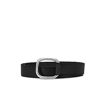 DSQUARED2 BLACK LEATHER LADY BELT