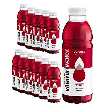 Glaceau Vitamina Acqua - 12 Pack x 500ml - POWER-C Raspberry Apple