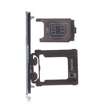 מגש כרטיס סים כחול יחיד עבור Xperia XZ1 Compact 1310-0294