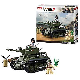 Sluban WWII, Kit - Tank BT-7