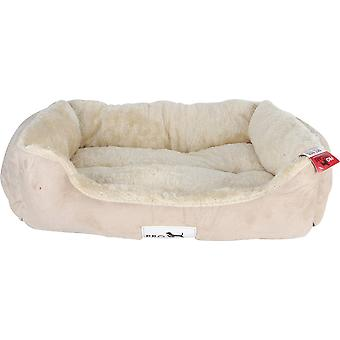 Pet Bed Microfiber With Plush