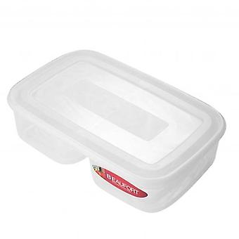Beaufort Squared 2 Section Food Container