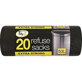 Tidy Z Refuse Sacks (50 Rolls)