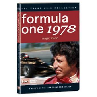 F1 Review 1978 Magic Mario [DVD] USA import