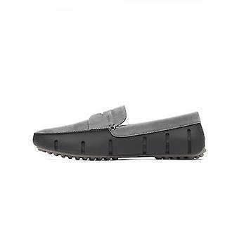 Stekken grijs & legering Penny Lux driver loafer
