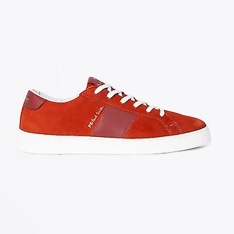 PS Paul Smith  - Nubuck 'Lowe' Trainers - Red