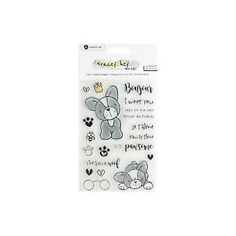 Hampton Art Frenchie Clear Stamps