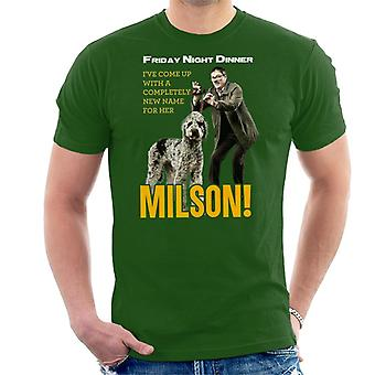 Friday Night Dinner Naming Milson Men's T-Shirt