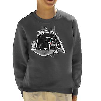 Opprinnelige Stormtrooper Imperial Gunner hjelm barneklubb Sweatshirt