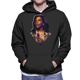 TV keer Soul zangeres Gladys Knight 1971 mannen Hooded Sweatshirt