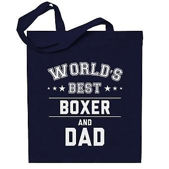 Maailman paras nyrkkeilijä ja isä Totebag