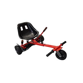 SILI® Off Road Suspension Kart for 2 Wheel Self Balance Scooter, Improved Design with Suspension Under Seat - RED