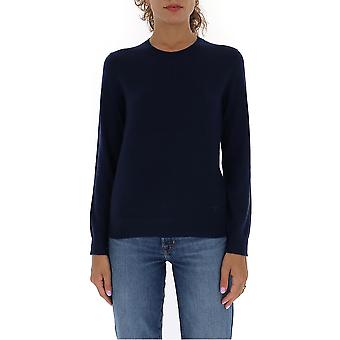 Tory Burch 63625405 Naiset's Blue Cashmere Sweater