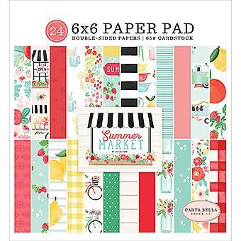 Carta Bella Summer Market 6x6 Inch Paper Pad