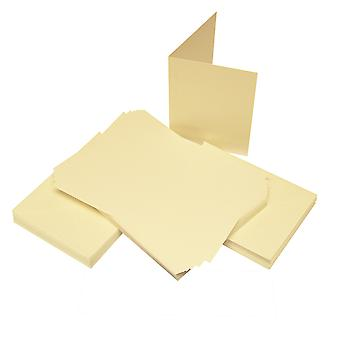 Craft UK Cards & Envelopes C6 Ivory – 50pcs