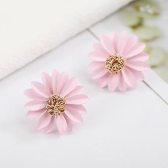 Pink Daisy Fiore Borchie