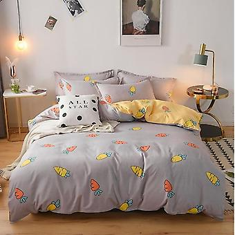 Stylish Comfortable Nordic Printing Bedding Set