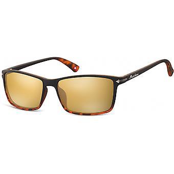 نظارات شمسية للجنسين من SGB الأسود / البني (سلحفاة) (MS51)