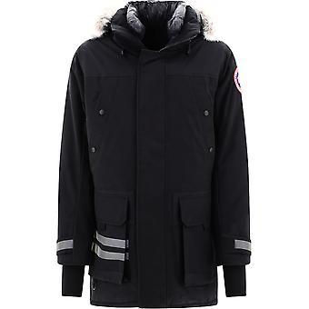 Canada Goose Cg9513m3561 Men's Black Polyester Outerwear Jacket