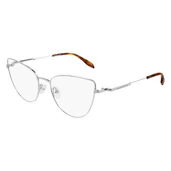 Alexander Mcqueen AM0268O 003 Silver Glasses