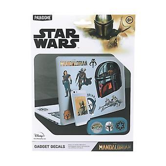 The Mandalorian Gadget Decals Licensed Star Wars 4 Sticker Sheets
