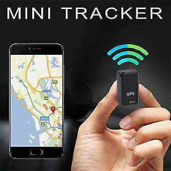 Arrival Mini Gps-tracker Anti-theft Device Smart-locator Voice Strong Magnetic-recorder Voice Control (black)