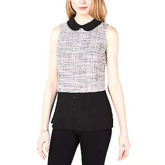Maison Jules | Layered-Look Tweed Top