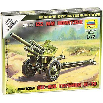 Zvezda Z6122 Soviet M-30 Howitzer Model Kit