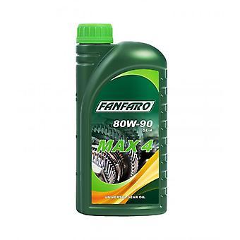 Fanfaro Max 4 80W90 Universal Gear Oil 1L API GL4 MIL-L 2105