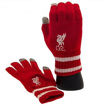 Liverpool Touchscreen Knitted Gloves Adult