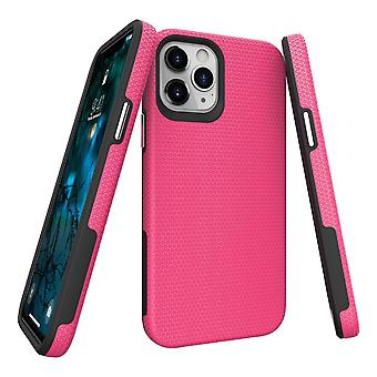 Für iPhone 12 Pro/12 Case Armour Shockproof Strong Light Slim Cover Pink