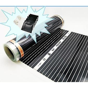220v Electric Warm Floor System-infrared Heating Foil Mat (50cm Widhth)
