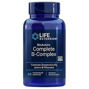 מתחם B-קומפלקס שלם להארכת חיים, 60 Vcaps