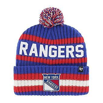 47 العلامة التجارية بيني قبعة الشتاء -- BERING نيويورك رينجرز