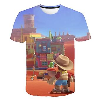 Boys And Girls Summer Clothes, Classic Game 3d Printed, T-shirt, Hip-hop