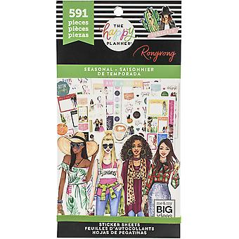 Happy Planner X Rongrong Sticker Value Pack-Sazonal