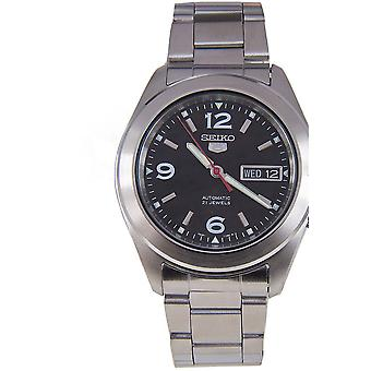 Seiko 5 Gent Watch SNKM77K1 - Stainless Steel Gents Automatic Analogue