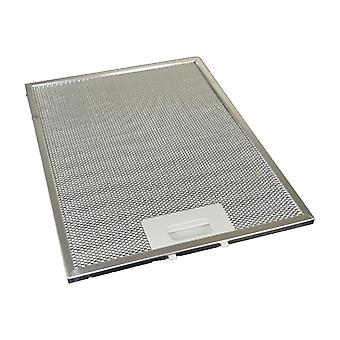 Univerzální digestoř Kovový filtr plastického maziva 247mm x 327mm