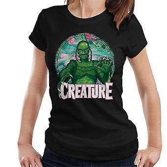 Criatura da Lagoa Negra Mix Circle Women''s T-Shirt