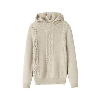 Mulheres's Cashmere Hoodie