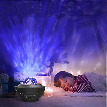 Projector Night Light with Remote Control Ceiling Projector Starry Sky Light Dream Rotating Atmosphere Lamp