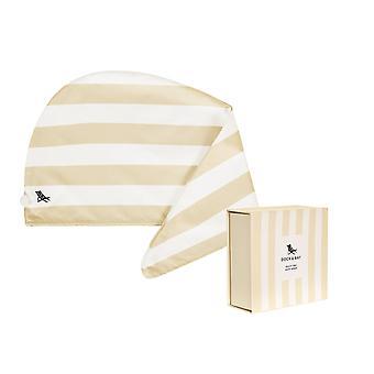 Dock & bay hair wrap - quick dry hair towel - bora bora beige
