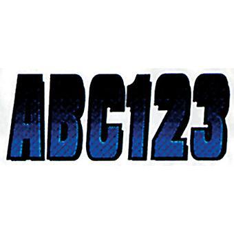 """Hardline BLBKG300 3"""" Carbon Fiber Kits - Blue/Black"""