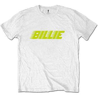 White Billie Eilish Racer Logo 2 Tee T-Shirt officiel Unisex