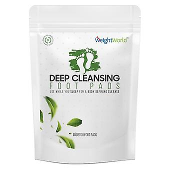 Natural Detox Foot Pads - 5 Day Foot Pad Programme - Deeply Cleanse Your Body While You Sleep - Kind To All Skin Types - Comfortable to Wear