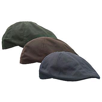 Walker and Hawkes - Uni -Sex Wax Duckbill Cap Hat