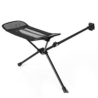 Folding Chair Footstool Portable Adjustable Universal Footrest Leisure for Outdoor