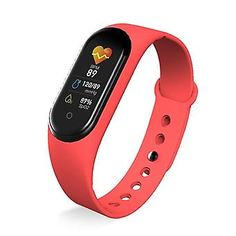 M5 Waterproof  Smart Watch - Blood Pressure, Heart Rate And Fitness Tracker