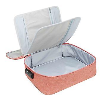 Document Storage Bag Box Document Bag Organizer Papers Storage Bag Pink