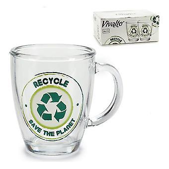 Kannu kierrätä Save The Planet Crystal (32 cl)